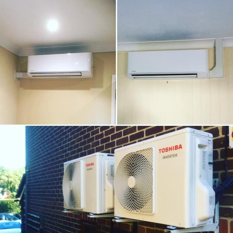 Toshiba Air Conditioning Installations
