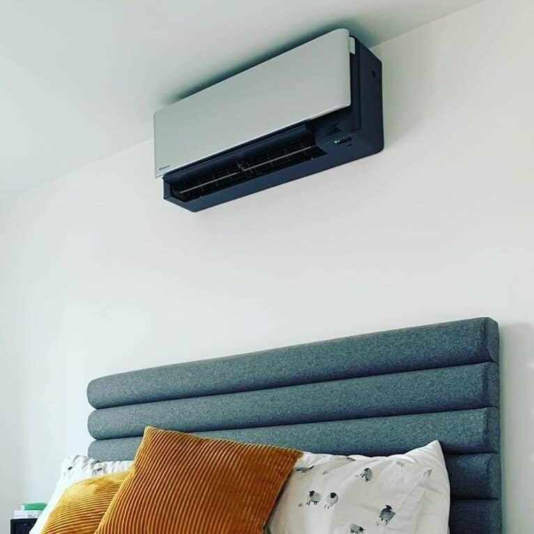 Daikin Stylish Silver Air Conditioning Installations